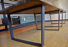 metal office tables. Fancy Metal Conference Table Legs With Diy Industrial Pallet 101 Pallets Office Tables