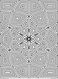 Free Printable Geometric Designs To Color Free Printable Coloring
