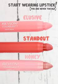 starting to wear lipstick at 30 and revlon colorburst lip review brooklyn farm