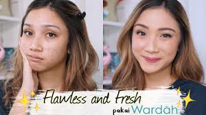 pakai wardah one brand tutorial