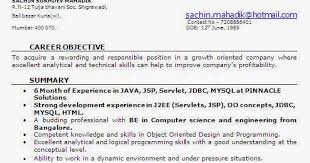 Resume Sample For Software Engineer Experienced Best of 24 Month Experience Resume For Software Developer