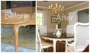 40 Perfect Painting Dining Room Table On With Regard To Glamorous Stunning Paint Dining Room Table Property