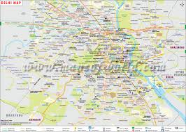 Delhi Map City Map Of Delhi Capital Of India