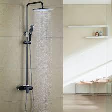 Homelody Duschsystem Regendusche Duschset Brausegarnitur