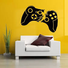 gamer loss of control wall decal