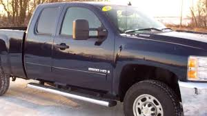 SOLD! 7356 2008 CHEVROLET K2500 EXTENDED CAB SHORT BOX 3/4 TON ...