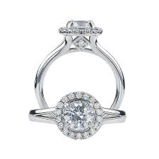 halo diamond engagement rings in miami nashville king jewelers