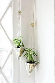 diy cement hanging planters