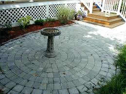 awesome circular patio kit and kits paver with fire pit luxury for circle specialty