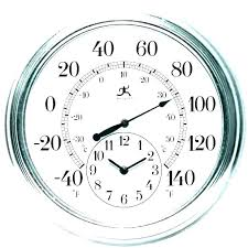 outdoor clocks for oversized wall large outside garden wal outdoor clock