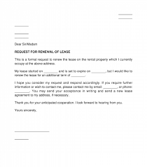 tenant s lease renewal request letter