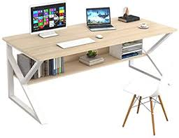 Don't hesitate to give us a call. Zzhehou Computer Desk Computer Desk Study Table Home Office Laptop Desktop Study Table For Bedroom Easy To Clean And Maintain Color Beige Size 120x70x72cm Amazon Co Uk Home Kitchen