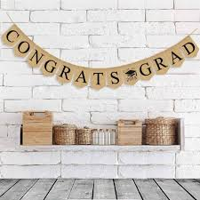Congratulation Party Decorations 3 5m Wall Hanging Garland Bunting Graduation Party Banners