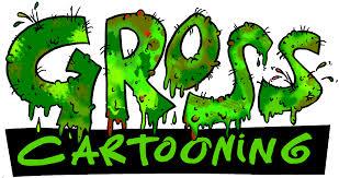 gross cartooning logo colour version cover gross cartooning cartoon dave hackett