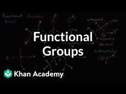 Organic Chemistry Functional Groups Chart Pdf Functional Groups Video Khan Academy