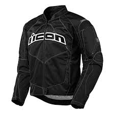 icon men s contra black textile jacket