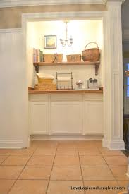 our new butler s pantry our coffee bar turn a closet into a bar