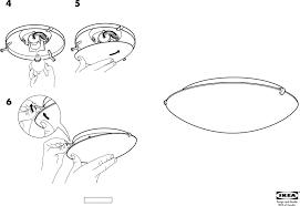 ikea lock ceiling lamp assembly instruction free pdf 2