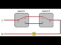 two way switching diagram two way switch youtube 2 way lighting wiring diagram pdf 2 Way Lighting Diagram Wiring #20