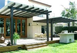 deck covers plans roof ideas patio cover shade designs aluminum unique