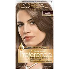 Loreal Hair Color Chart Prices Loreal Preference Hair Color Light Brown