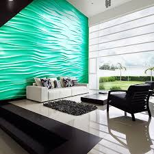 Small Picture 3D Architectural Wall Tile Wave Wall Seamless Plaster US