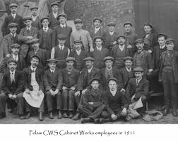 cws pelaw antique. Plain Antique Pelaw CWS Cabinet Factory Employees In 1911 Can Anyone See Great Grandad Intended Cws Antique T