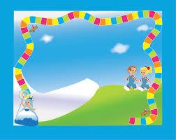 candyland border clip art.  Art Candyland Background Photo 4 Background4 Border Clipart  Free Download On Clip Art R