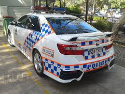 Queensland Police General Duties Toyota Aurion | Police beat and ...