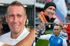 Stricken Rangers hero Fernando Ricksen wears tears proudly as he admits MND  has left him unable to stop crying