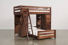 Sedona Twin Over Twin Loft Bunk With Chest & Desk ...