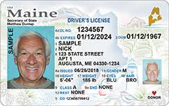 That Compliant Id New Focus Marking Driver's Will Fiddlehead Maine Include Design Unveils Real - License