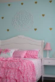 Teens Room : Finley39s Aqua Pink Gold And White Big Girl Room ...