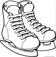 Printable ice skates sport coloring pages printable ice skates sport coloring pagesfree printable coloring on disney on ice coloring pages