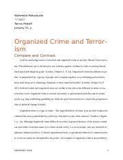 soc criminology um page course hero 4 pages essay 3 waheedat o makanjuola