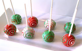 Decorating Cake Balls Pint Sized Baker Simple Christmas Tree Cake Pops for Uncommon 100