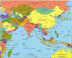 World Map Europe And Asia Map Europe And Asia Travel Maps And Major Tourist Attractions Maps