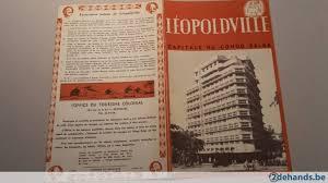 Reisbrochure Reisbrochure Leopoldville Capitale Du Congo Belge Te Koop
