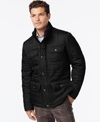 Tommy Hilfiger Four-Pocket Quilted Jacket - Coats & Jackets - Men ... & Tommy Hilfiger Four-Pocket Quilted Jacket Adamdwight.com
