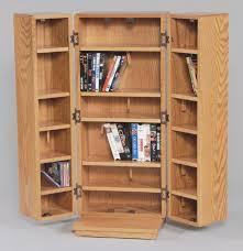 oak cd storage cabinet for brilliant dvd multimedia regarding plans 10