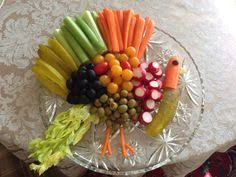 Decorative Relish Tray For Thanksgiving Saw this on FB or Pinterest and copied the idea Thanksgiving relish 31
