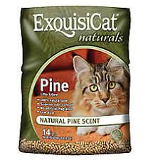 image cat litter. Modren Image ExquisiCat Naturals Pine Cat Litter For Image N
