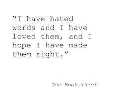 Vernal Flare: The Book Thief via Relatably.com