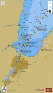 Green Bay Depth Chart Head Of Green Bay Including Fox River Below De Pere Marine