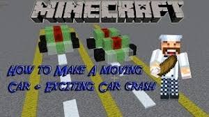 how to make a car in minecraft. Modren Minecraft How To Make A Simple Working Car In Minecraft Car Crash To Make A In Minecraft