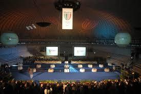 Buffet Italiano Roma : Cerimonia spettacolo coni palazzetto dello sport roma