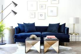 full size of navy blue sofa living room sectional couch ideas velvet on brass legs with