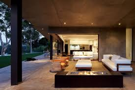 Contemporary house furniture Stylish Architecture Open Living Room Modern Rustic House Furniture Design With Brown Interior Decorating Ideas Plus Contemporary Home Mandeville Canyon Residence Keribrownhomes