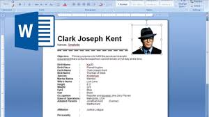 How To Type A Resume On Microsoft Word Resume Microsoft Word 2007 Nousway
