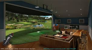 gsa golf simulator screens